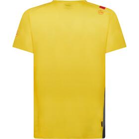 La Sportiva Stream T-Shirt Heren, yellow/carbon